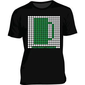 Shirt Design – Dot Pattern Design