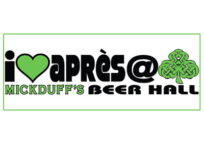 Bumper Sticker – apres with shamrock