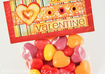 Valentine Treat Bag – Handmade Papercraft Design