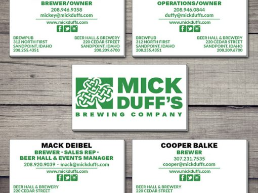 Business Card – MickDuff's